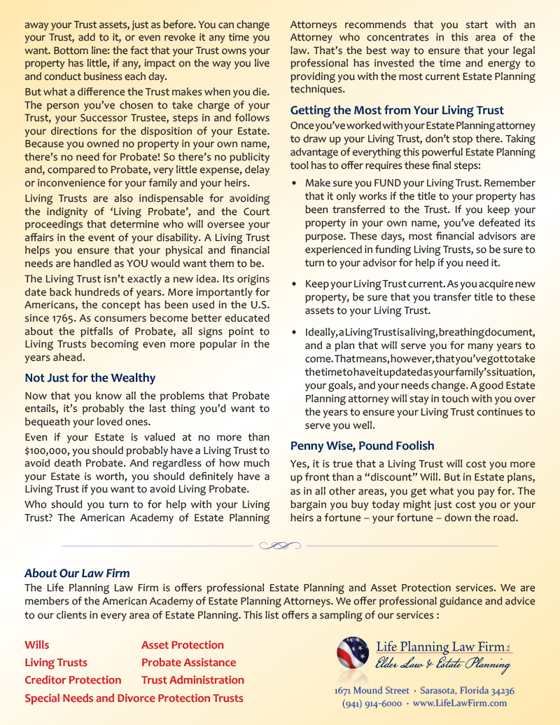 What Every Senior Should Know About Probate - 2 sided flyer -FINAL for web - back